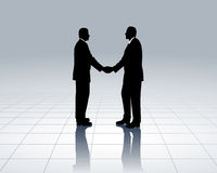 Bedrijfs contacten stock illustratie
