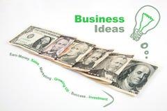 Bedrijfs creatief idee Stock Foto