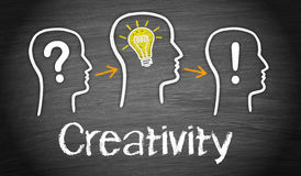 Bedrijfs creativiteitconcept Stock Afbeeldingen