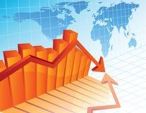 Bedrijfs crisis Stock Foto's