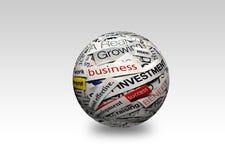 Bedrijfs 3d succes Royalty-vrije Stock Foto's
