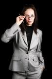 Bedrijfs dame Stock Fotografie