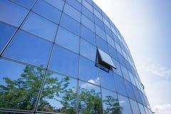 Bedrijfs de bouwbezinningen Royalty-vrije Stock Foto