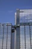 Bedrijfs de bouwbuitenkant Royalty-vrije Stock Afbeeldingen