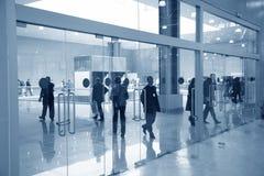 Bedrijfs deuren royalty-vrije stock afbeeldingen