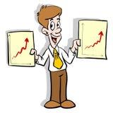 Bedrijfs diagrammen Royalty-vrije Stock Afbeelding