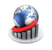 Bedrijfs/Economieconcept stock illustratie