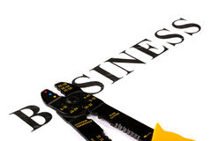 Bedrijfs elektrische hulpmiddelen Stock Afbeeldingen