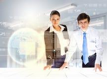 Bedrijfs en communicatie innovaties Royalty-vrije Stock Afbeelding
