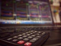 Bedrijfs en financiënachtergrond Royalty-vrije Stock Fotografie