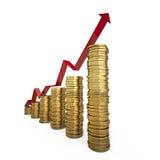 Bedrijfs en financiënconcept Royalty-vrije Stock Afbeeldingen