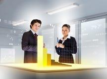 Bedrijfs en innovatietechnologieën Royalty-vrije Stock Foto's