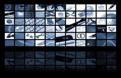 Bedrijfs en technologiesamenstelling Stock Afbeelding