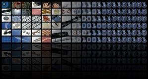 Bedrijfs en technologiesamenstelling Royalty-vrije Stock Fotografie