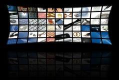 Bedrijfs en technologiesamenstelling Stock Afbeeldingen