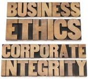 Bedrijfs ethiek stock fotografie
