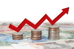 Bedrijfs financiën Stock Afbeelding