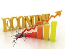 Bedrijfs financieel de groeiconcept stock illustratie