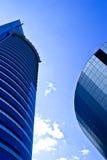 Bedrijfs gebouwen Stock Afbeeldingen