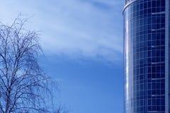 Bedrijfs gebouwen Stock Afbeelding