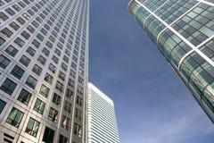 Bedrijfs gebouwen Royalty-vrije Stock Foto's