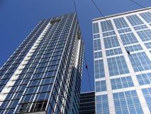 Bedrijfs gebouwen Stock Foto's