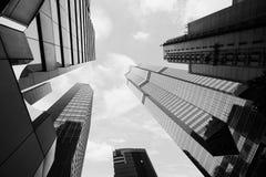 Bedrijfs gebouwen Stock Foto