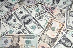 Bedrijfs geldachtergrond Royalty-vrije Stock Foto