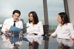 Bedrijfs gesprek Stock Afbeelding