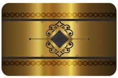 Bedrijfs of giftkaart Royalty-vrije Stock Foto's