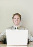 Bedrijfs glimlach royalty-vrije stock fotografie