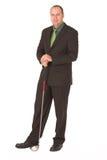 Bedrijfs golfspeler #3 royalty-vrije stock afbeelding