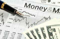 Bedrijfs grafiek 2 Royalty-vrije Stock Foto