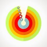 Bedrijfs grafieken Vector Illustratie
