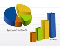 Bedrijfs grafieken/Vector Royalty-vrije Stock Afbeelding