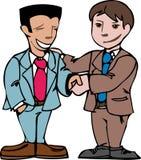 Bedrijfs handdruk vector illustratie