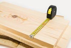 Bedrijfs hout en roulette Stock Afbeeldingen