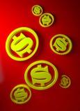 Bedrijfs illustratie Stock Foto