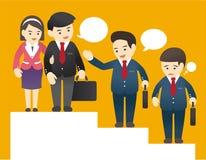 Bedrijfs illustratie royalty-vrije illustratie