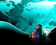 Bedrijfs illustratie Royalty-vrije Stock Afbeelding