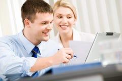Bedrijfs interactie Stock Afbeelding
