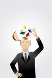 Bedrijfs kennis vector illustratie