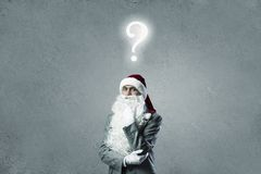 Bedrijfs Kerstman Royalty-vrije Stock Fotografie