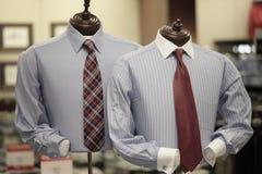 Bedrijfs kledij op een ledenpop Stock Foto's