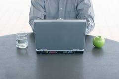 Bedrijfs laptop stock foto