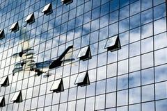 Bedrijfs luchthaven stock foto's