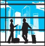 Bedrijfs Luchthaven 2 stock illustratie