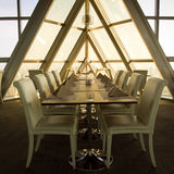 Bedrijfs lunch Royalty-vrije Stock Foto's