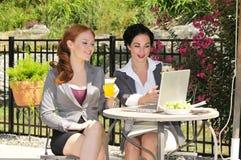 Bedrijfs lunchvergadering Royalty-vrije Stock Fotografie