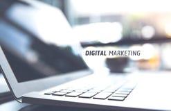 Bedrijfs marketing, succes en doelstellingen concept stock foto